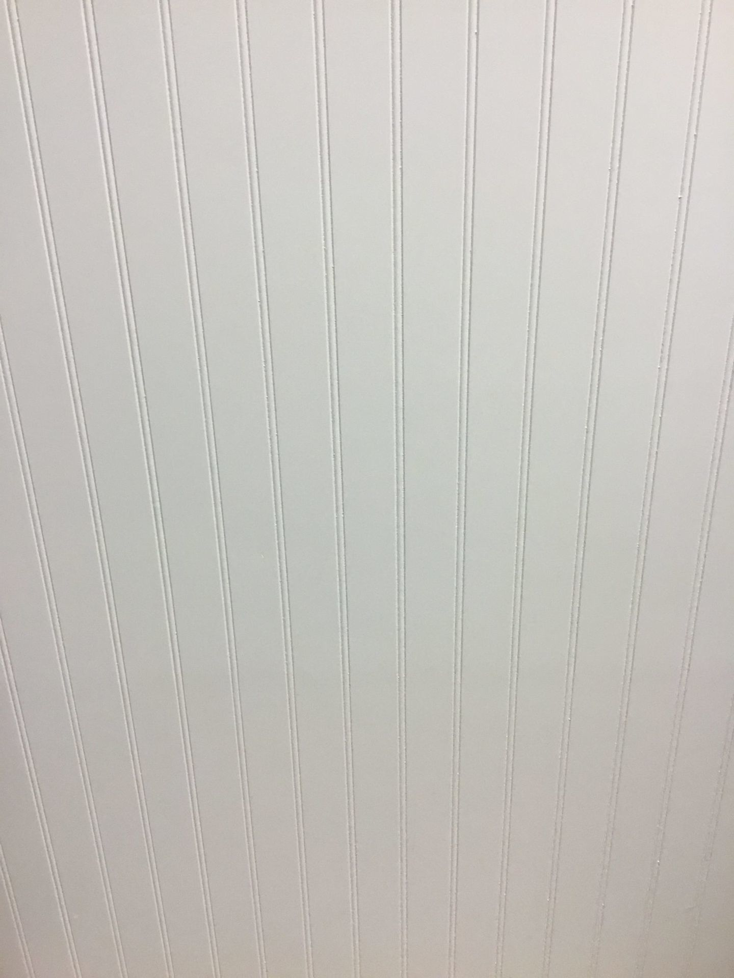 White Beadboard Accent Panel